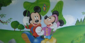 Tinkerbell & Mickey