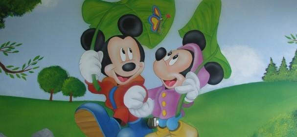 Tinkerbell & Mickey